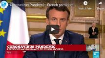 President Macron speech on managing Covid-19 in France