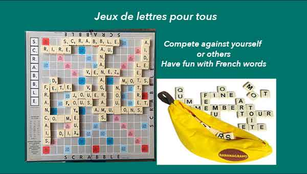 Word games in French at Almaje